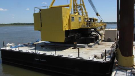 Crane Barge Stability Analysis Charleston Naval Architect